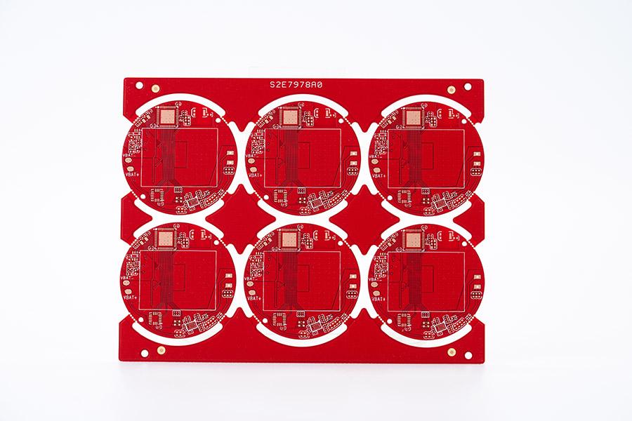 双面红油板1