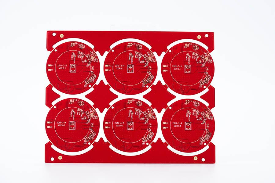 双面红油板3