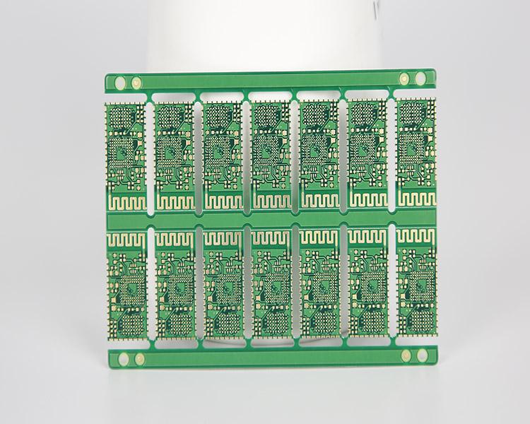 蓝牙模块半孔PCB (1)