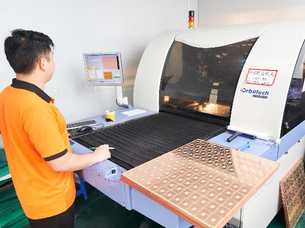 宏联电路-AOI扫描