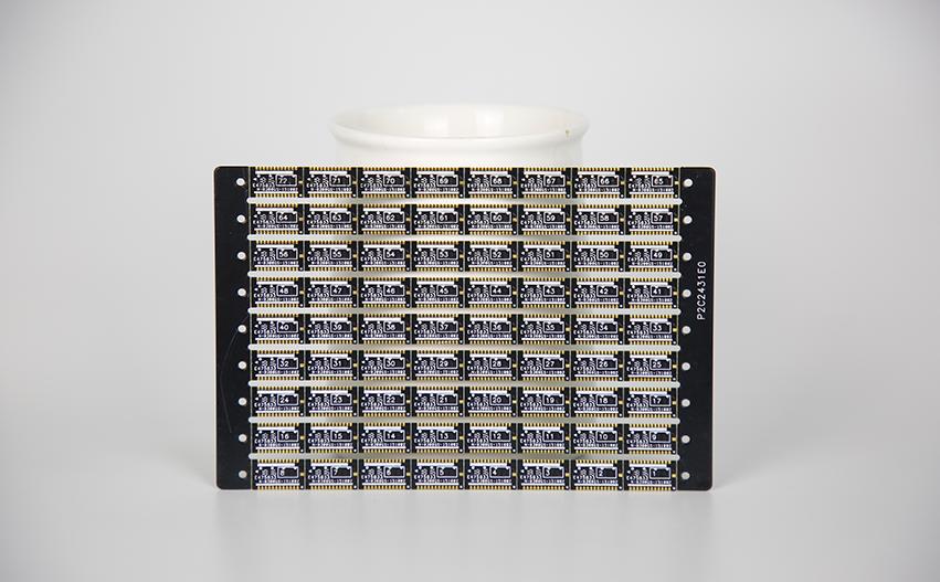 无卤素厚金半孔电路板