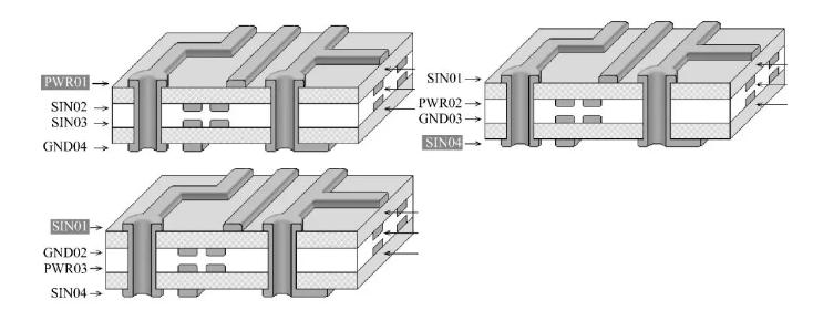 PCB板层叠